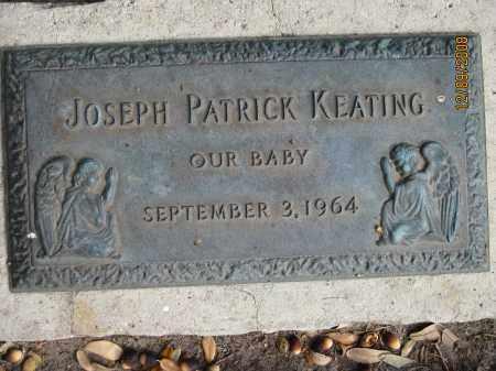 KEATING, JOSEPH PATRICK - Sarasota County, Florida | JOSEPH PATRICK KEATING - Florida Gravestone Photos