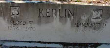 KERLIN, MARJORIE D. - Sarasota County, Florida | MARJORIE D. KERLIN - Florida Gravestone Photos