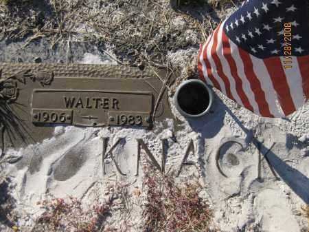 KNACK, WALTER - Sarasota County, Florida | WALTER KNACK - Florida Gravestone Photos