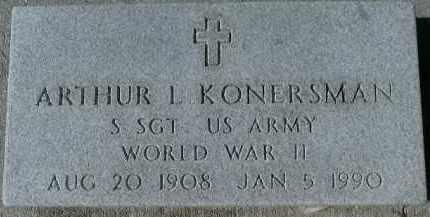 KONERSMAN (VETERAN WWII), ARTHUR L. - Sarasota County, Florida   ARTHUR L. KONERSMAN (VETERAN WWII) - Florida Gravestone Photos