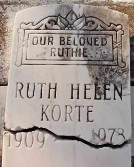 KORTE, RUTH HELEN - Sarasota County, Florida | RUTH HELEN KORTE - Florida Gravestone Photos