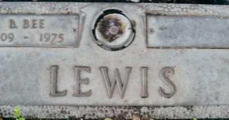 LEWIS, B. BEE - Sarasota County, Florida | B. BEE LEWIS - Florida Gravestone Photos