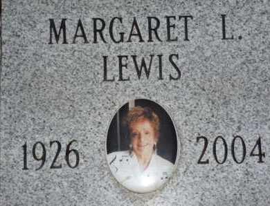 LEWIS, MARGARET L. - Sarasota County, Florida | MARGARET L. LEWIS - Florida Gravestone Photos
