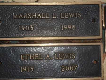 LEWIS, MARSHALL L. - Sarasota County, Florida | MARSHALL L. LEWIS - Florida Gravestone Photos