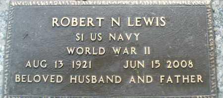 LEWIS, ROBERT N. - Sarasota County, Florida | ROBERT N. LEWIS - Florida Gravestone Photos