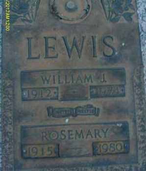 LEWIS, WILLIAM J. - Sarasota County, Florida | WILLIAM J. LEWIS - Florida Gravestone Photos