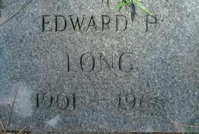 LONG, EDWARD H. - Sarasota County, Florida | EDWARD H. LONG - Florida Gravestone Photos