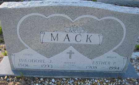 MACK, ESTHER PATRICIA - Sarasota County, Florida   ESTHER PATRICIA MACK - Florida Gravestone Photos