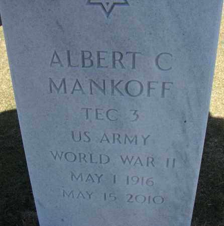 MANKOFF (VETERAN WWII), ALBERT C - Sarasota County, Florida | ALBERT C MANKOFF (VETERAN WWII) - Florida Gravestone Photos