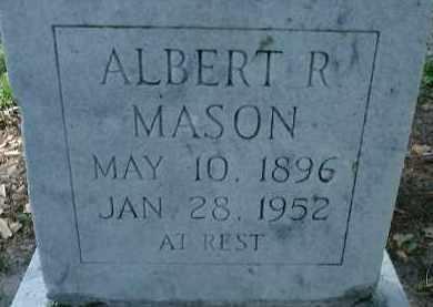 MASON, ALBERT R. - Sarasota County, Florida | ALBERT R. MASON - Florida Gravestone Photos