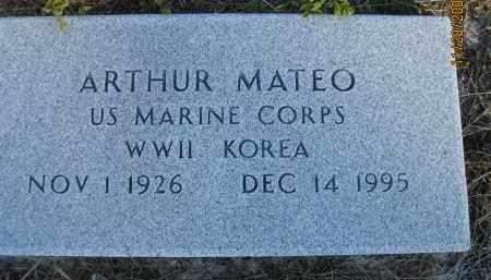 MATEO (VETERAN WWII KOR), ARTHUR (NEW) - Sarasota County, Florida | ARTHUR (NEW) MATEO (VETERAN WWII KOR) - Florida Gravestone Photos