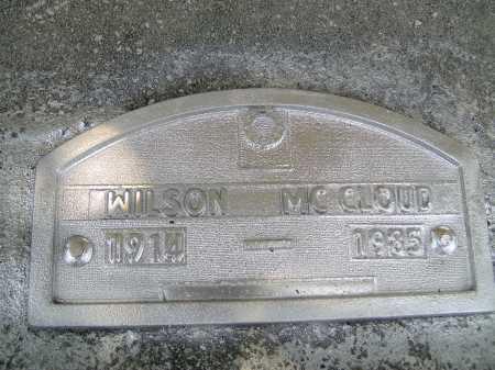 MCCLOUD, WILSON - Sarasota County, Florida   WILSON MCCLOUD - Florida Gravestone Photos