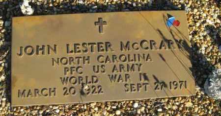 MCCRARY (VETERAN WWII), JOHN LESTER (NEW) - Sarasota County, Florida | JOHN LESTER (NEW) MCCRARY (VETERAN WWII) - Florida Gravestone Photos