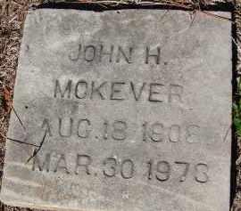 MCKEVER, JOHN H. - Sarasota County, Florida | JOHN H. MCKEVER - Florida Gravestone Photos