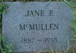 MCMULLEN, JANE E. - Sarasota County, Florida | JANE E. MCMULLEN - Florida Gravestone Photos