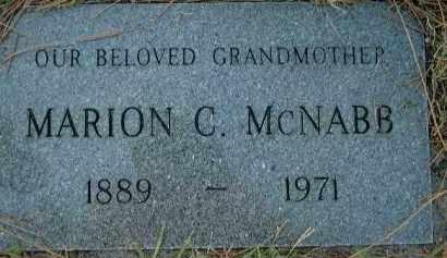 MCNABB, MARION C. - Sarasota County, Florida   MARION C. MCNABB - Florida Gravestone Photos