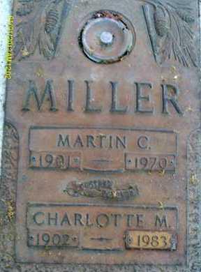 MILLER, CHARLOTTE M. - Sarasota County, Florida   CHARLOTTE M. MILLER - Florida Gravestone Photos