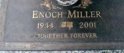 MILLER, ENOCH - Sarasota County, Florida | ENOCH MILLER - Florida Gravestone Photos