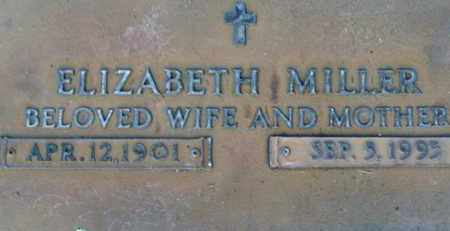 MILLER, ELIZABETH - Sarasota County, Florida | ELIZABETH MILLER - Florida Gravestone Photos
