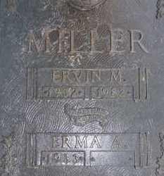 MILLER, ERVIN M. - Sarasota County, Florida | ERVIN M. MILLER - Florida Gravestone Photos
