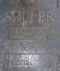 MILLER, ERMA A. - Sarasota County, Florida | ERMA A. MILLER - Florida Gravestone Photos