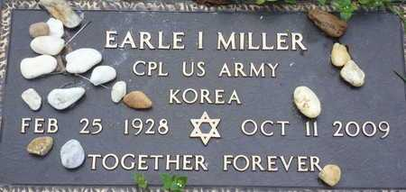 MILLER, EARLE I - Sarasota County, Florida | EARLE I MILLER - Florida Gravestone Photos