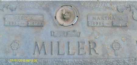 MILLER, FRED J. - Sarasota County, Florida | FRED J. MILLER - Florida Gravestone Photos
