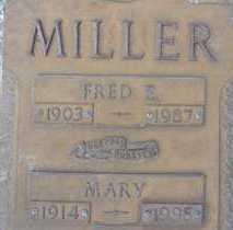 MILLER, FRED E. - Sarasota County, Florida   FRED E. MILLER - Florida Gravestone Photos