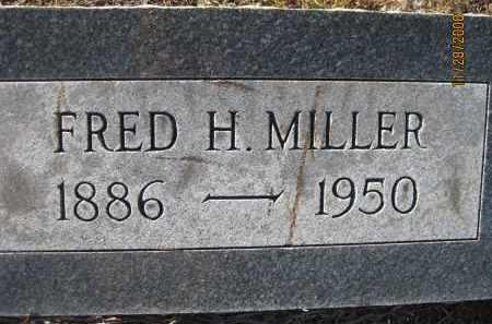 MILLER, FRED H - Sarasota County, Florida   FRED H MILLER - Florida Gravestone Photos