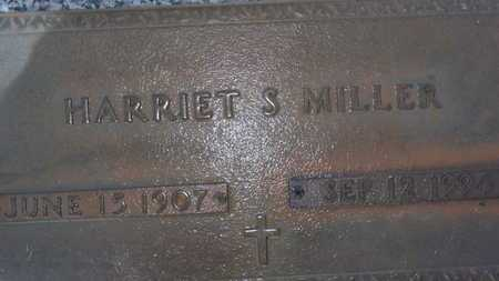 MILLER, HARRIET S. - Sarasota County, Florida   HARRIET S. MILLER - Florida Gravestone Photos