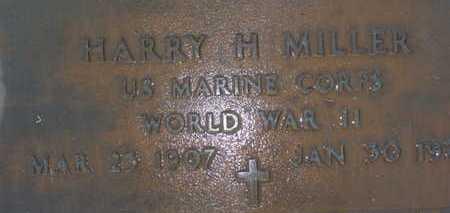 MILLER, HARRY H. - Sarasota County, Florida | HARRY H. MILLER - Florida Gravestone Photos