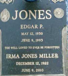 MILLER, IRMA JONES - Sarasota County, Florida   IRMA JONES MILLER - Florida Gravestone Photos