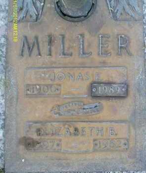MILLER, JONAS E. - Sarasota County, Florida | JONAS E. MILLER - Florida Gravestone Photos