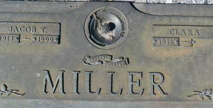 MILLER, JACOB T. - Sarasota County, Florida | JACOB T. MILLER - Florida Gravestone Photos