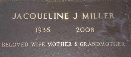 MILLER, JACQUELINE J. - Sarasota County, Florida   JACQUELINE J. MILLER - Florida Gravestone Photos