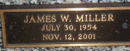 MILLER, JAMES W. - Sarasota County, Florida | JAMES W. MILLER - Florida Gravestone Photos