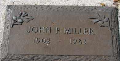 MILLER, JOHN P. - Sarasota County, Florida | JOHN P. MILLER - Florida Gravestone Photos