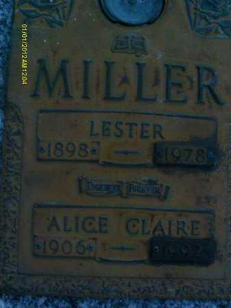 MILLER, LESTER - Sarasota County, Florida | LESTER MILLER - Florida Gravestone Photos