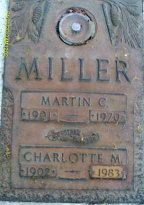 MILLER, MARTIN C. - Sarasota County, Florida | MARTIN C. MILLER - Florida Gravestone Photos