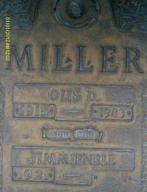 MILLER, OLIS D. - Sarasota County, Florida | OLIS D. MILLER - Florida Gravestone Photos