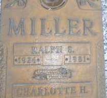 MILLER, RALPH S. - Sarasota County, Florida | RALPH S. MILLER - Florida Gravestone Photos