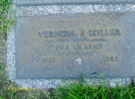 MILLER, VERNON  J. - Sarasota County, Florida   VERNON  J. MILLER - Florida Gravestone Photos