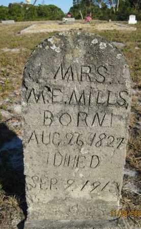 MILLS, MRS M E - Sarasota County, Florida | MRS M E MILLS - Florida Gravestone Photos