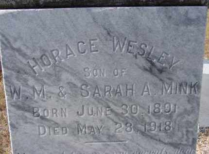 MINK, HORACE WESLEY - Sarasota County, Florida | HORACE WESLEY MINK - Florida Gravestone Photos