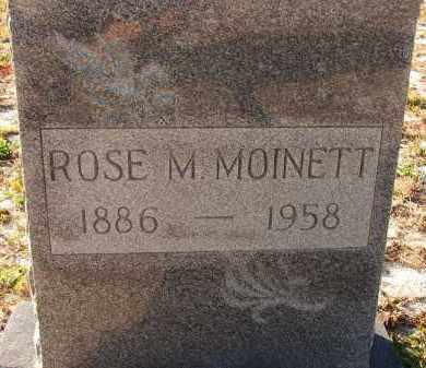 MOINETT, ROSE M. - Sarasota County, Florida | ROSE M. MOINETT - Florida Gravestone Photos
