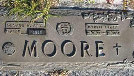 MOORE, MYRTLE - Sarasota County, Florida | MYRTLE MOORE - Florida Gravestone Photos
