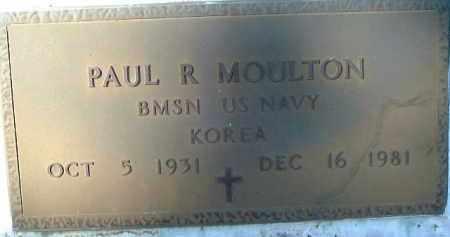 MOULTON (VETERAN KOR), PAUL R. - Sarasota County, Florida | PAUL R. MOULTON (VETERAN KOR) - Florida Gravestone Photos