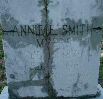 MYERS, ANNIE E. - Sarasota County, Florida   ANNIE E. MYERS - Florida Gravestone Photos