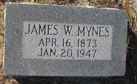 MYNES, JAMES W - Sarasota County, Florida | JAMES W MYNES - Florida Gravestone Photos