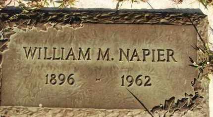 NAPIER, WILLIAM M. - Sarasota County, Florida | WILLIAM M. NAPIER - Florida Gravestone Photos